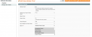 Magento Custom Product Type