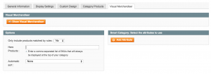 Magento Visual Merchandiser