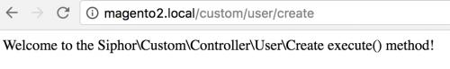 Creating a Magento 2 Controller