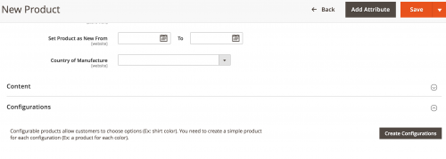 Adding Products within Magento 2
