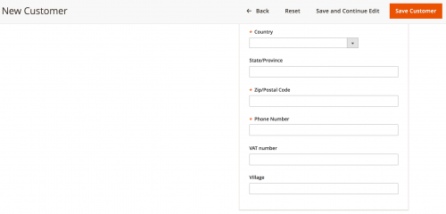 Add Customer and Customer Address Attributes in Magento 2