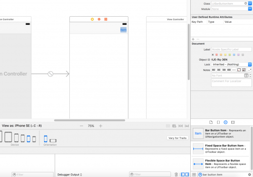 Add a Navigation Controller in Xcode