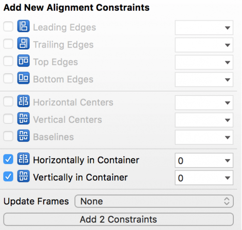 Using Autolayout in Xcode