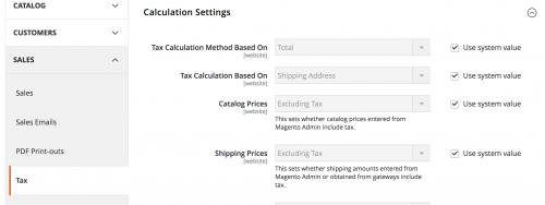 Learning Magento 2 Tax