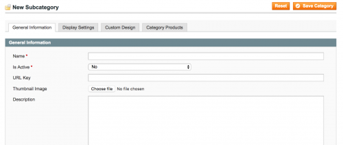 Category Thumbnails in Magento