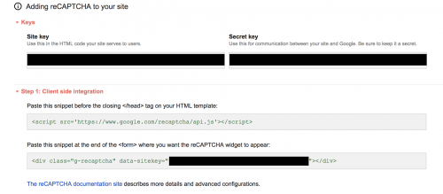 Adding Google reCAPTCHA to Websites