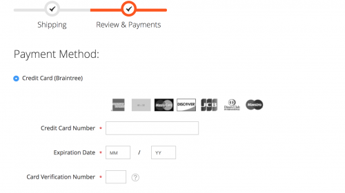 Changing Credit Card Icons on the Magento 2 Checkout